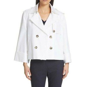 JUDITH & CHARLES Fauvist Trench Style Waist Jacket